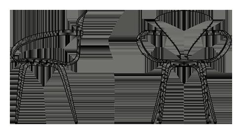 Cherner Arm Chair Sketch