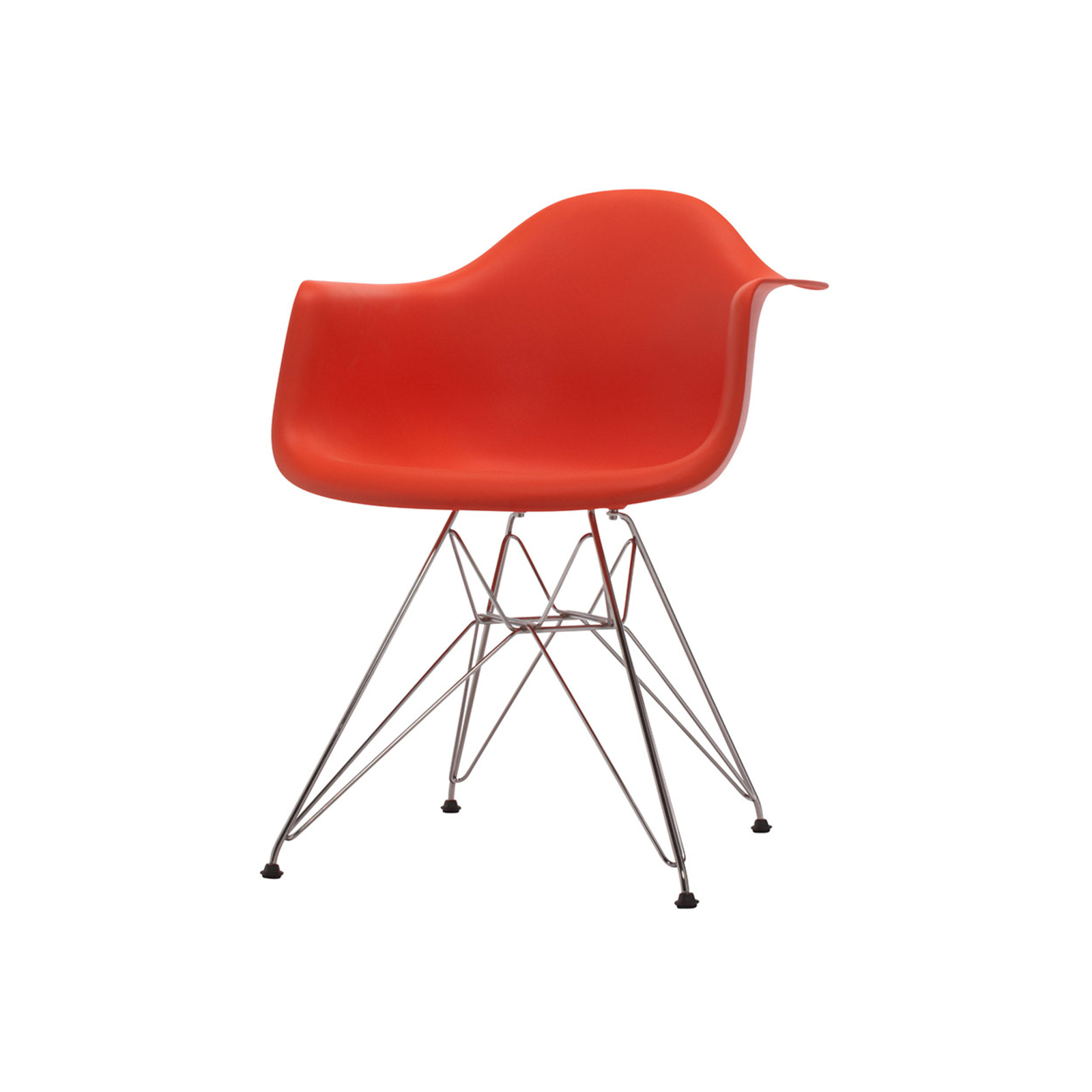 Eames Dining Armchair Red